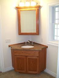 Wood Vanity Table Sweetlooking Corner Bathroom Vanity Set Parsmfg Throughout The