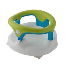 siège de bain pour bébé anneau de bain vert rotho babydesign magasin de puériculture