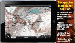 D D World Map Maker by Backpacker Map Maker Ipad App Backpacker