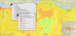 Oregon Counties Map by Local Geo Hazards U0026 Interactive Viewers Emergency Preparedness