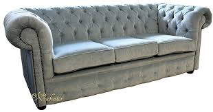 fabric chesterfield sofa chesterfield 3 seater settee velluto duck egg fabric sofa offer