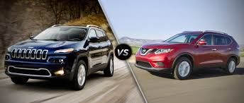 jeep crossover 2014 2014 jeep cherokee vs 2014 nissan rogue