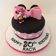 minnie mouse birthday cake minnie mouse theme single tier cake