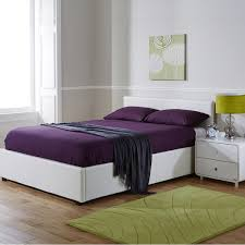 seattle side opening storage ottoman bed with mattress from the