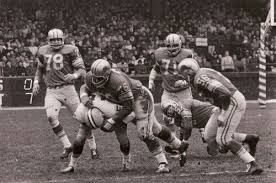 the 1962 thanksgiving day saw the lions the