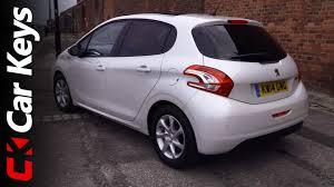 peugeot reviews peugeot 208 2014 review car keys youtube