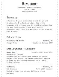 Samples Of A Resume by Picture Of A Resume 17 Examples Of Resumes By Enhancv Jackie White