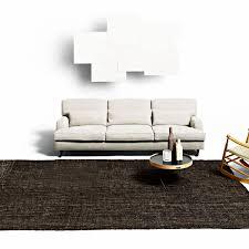 contemporary sofa contemporary sofa wooden fabric by vico magistretti