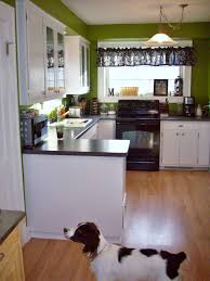 kitchens with white cabinets and green walls best 25 green