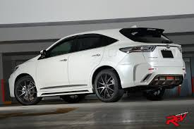 modified toyota full blast toyota harrier