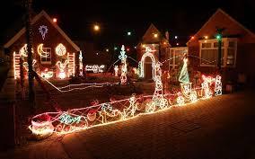 extravagant christmas light displays on houses telegraph
