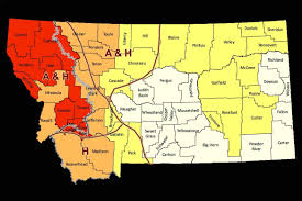 Montana County Map by Montana U0027s Drought Conditions To Continue Environment
