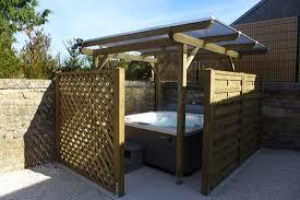abri cuisine ext駻ieure abri spa exterieur trendy spa exterieur prix patio avec par design