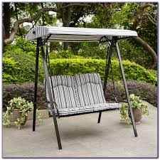 porch swing cushions with back patios home design ideas