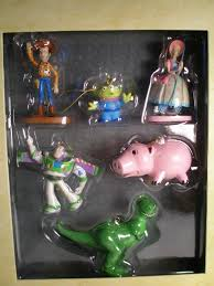 disney s story storybook ornament set of 6 toys