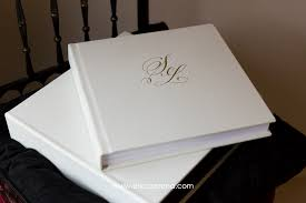 leather wedding photo albums 12x12 original white leather gold debossing wedding album