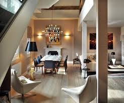 st pancras penthouse apartment in london open plan dining living space st pancras penthouse apartment in london