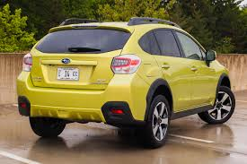 subaru crosstrek interior leather capsule review 2014 subaru crosstrek hybrid the truth about cars