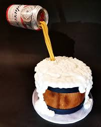 budweiser beer cake images tagged with defyinggravitycake on instagram