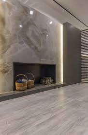 Tiled Fireplace Wall by 452 Best Linear Fireplaces Linear Contemporary Images On