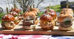slider buffet go basic go gourmet for memorial day
