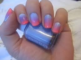 nail tutorial quick u0026 easy ombre nails youtube
