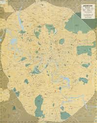 Moscow Map Russia And The Former Soviet Republics Maps Perry Castañeda Map