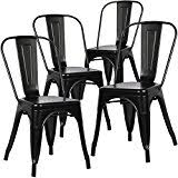 amazon com black chairs kitchen u0026 dining room furniture home