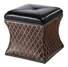 94 best western ottomans images on pinterest ottomans leather