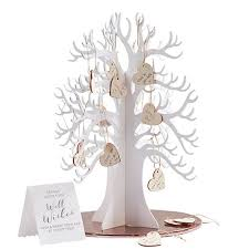 tree guest book wooden wishing tree guest book confetti co uk