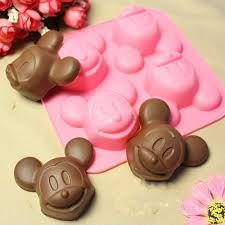 Bathroom Silicone Mould 4 Mickey Mouse Diy Soap Mold Mould Candy Mold Chocolate Mold