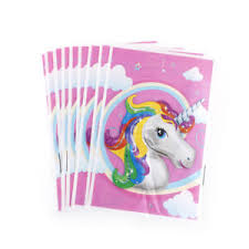 candy bags 10x unicorn theme party gift bags candy bag loot bags for kids