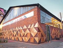 mural on wood reclaimed wood artwork beautifies downtown johannesburg