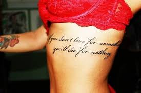side quotes black and white tattoos best tats