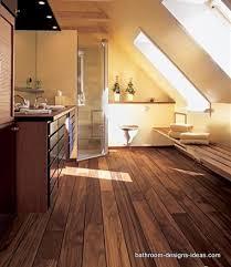 Wood Floor In Bathroom A Wooden Floor In A Bathroom Diy Gorgeous - Hardwood flooring in bathroom