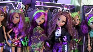 monster clawdeen wolf collection video