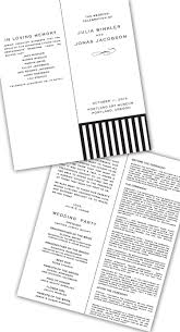 Programs For A Wedding Ceremony Jewish Wedding Program 101 How To Create A Ceremony Program