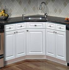 Kitchen Sink Cabinets - Corner sink kitchen cabinets