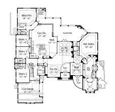 mediterranean floor plans mediterranean style house plan 5 beds 5 5 baths 5489 sq ft plan