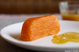 recettes cuisine michel guerard terrine de carottes à l orange et au cumin de michel guérard