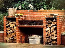 Backyard Barbecue Grills The 25 Best Brick Grill Ideas On Pinterest Brick Bbq Brick