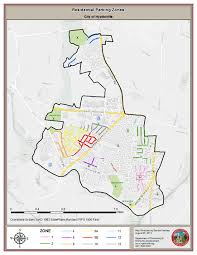 me a map of maryland residential parking hyattsville md official website