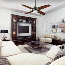 White Modern Living Room Living Room Interesting Hunter Ceiling Fans For Modern Living