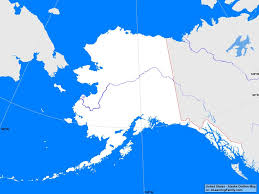 Map Of Alaska And Usa by Usa Alaska Outline Map A Learning Family