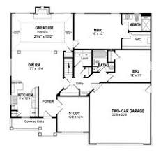 Coastal Cottage Home Plans Two Bedroom Home Plans Two Bedroom Traditional Planos