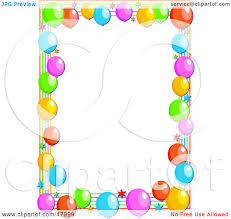 free birthday clip art borders clipart panda free clipart images