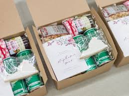wedding welcome boxes 8 treats wedding guests will only find in a southern welcome bag