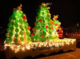 christmas light parade floats dietzel family parade of lights