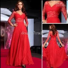dress red dress red prom dress lace dress long sleeve dress