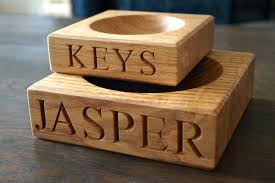 personalized wooden gifts personalised wooden key bowl makemesomethingspecial